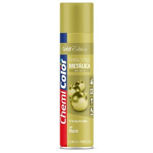 TINTA SPRAY CHEMICOLOR 400 ML U.G. - METALICA OURO 0680105
