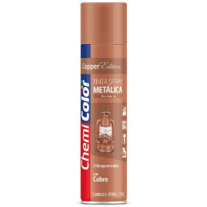 TINTA SPRAY CHEMICOLOR 400 ML U.G. - METALICA COBRE 0680106