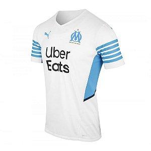 Camisa Olympique de Marseille I 2021/22 - Masculina
