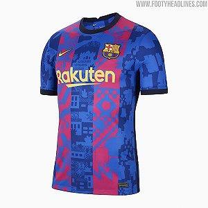 Camisa Barcelona UCL 2021/2022 – Masculina