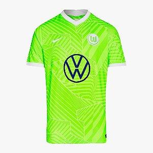 Camisa Wolfsburg I 2021/22 – Masculina