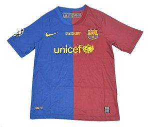 Camisa Barcelona Retrô Final UCL 2009 - Masculina