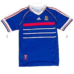 Camisa França Retrô 1998 - Masculina