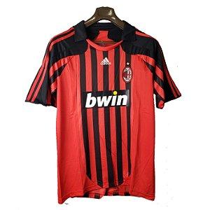 Camisa Milan Retrô 2008 - Masculina