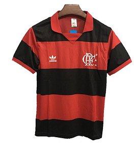 Camisa Flamengo Retrô Anos 80 - Masculina