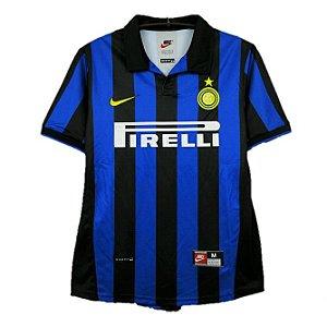 Camisa Inter de Milão Retrô 1998/99 - Masculina