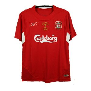 Camisa Liverpool Retrô Final UCL 2004/05 - Masculina