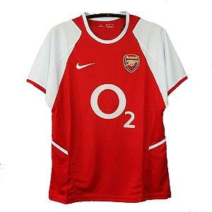 Camisa Arsenal Retrô 2002/03 - Masculina