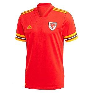 Camisa País de Gales I 2020/21 – Masculina
