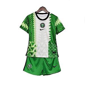 Conjunto Infantil Nigéria I 2020 – Masculino