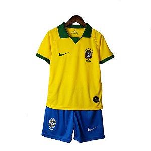 Conjunto Infantil Brasil I 2019 – Masculino
