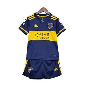 Conjunto Infantil Boca Juniors I 2020/21 – Masculino