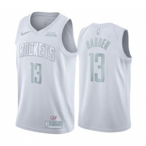 Camisa Rockets 13 White Edição MVP - Masculina