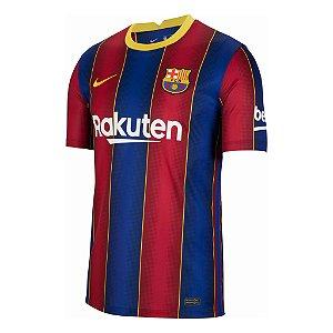 Camisa Barcelona I 2020/2021 – Masculina