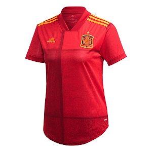Camisa Espanha I 2020/21 - Feminina