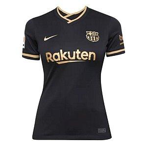 Camisa Barcelona II 2020/21 - Feminina
