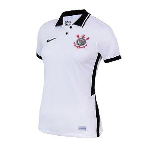 Camisa Corinthians I 2020/21 - Feminina