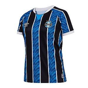 Camisa Grêmio I 2020/21 - Feminina