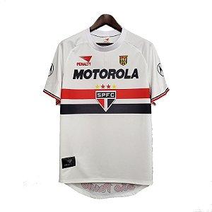 Camisa São Paulo I Retrô 1999 - Masculina