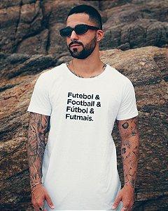 T-shirt Futebol & Football & Fútbol & Futmais - Masculina