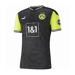 Camisa Borussia Dortmund Homenagem Anos 90 – Masculina