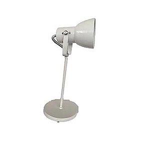 Luminária de Mesa Abajur Branco LM110-BC