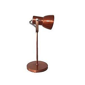 Luminária de Mesa Abajur Cobre LM110-CO