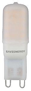Lâmpada de Led Halopin G9 2W 3000k 220V Save 265.509