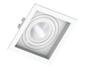 Spot de Embutir Quadrado Click para PAR20 Save 330.1040