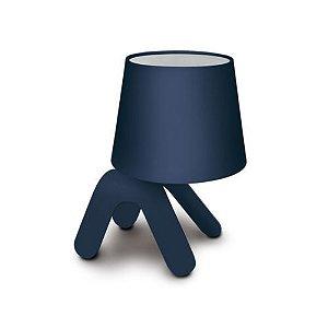 Abajur Pet Light Azul 23CM