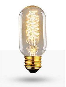 Lâmpada Filamento de Carbono 40W 110V T45