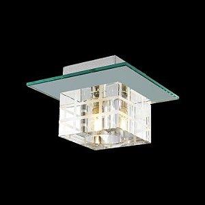 Plafon B1 em Aço e Espelho para 1 Lâmpada G9  PL-014-1.15EP