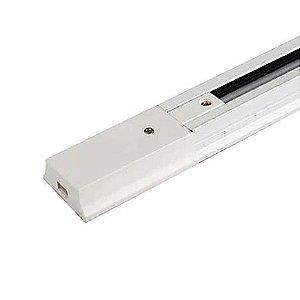 Trilho eletrificado retangular 100cm Branco