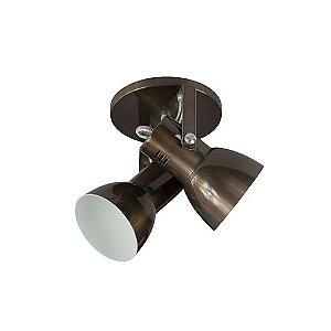 Spot Cone para 2 Lâmpadas E27 Onix SP1955-2