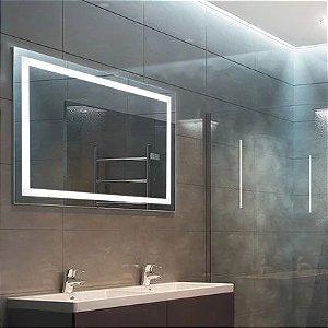 Espelho Retangular com Led 80x60CM Touch
