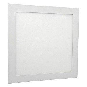 Placa de Led de Embutir Quadrada 24W 6000K 30CM LYZ LZ28055