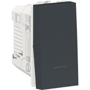 Interruptor Simples 10A 250V Grafite Schneider Orion S70110194