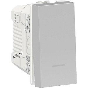 Interruptor Paralelo 10A 250V Aluminium Schneider Orion S70110374