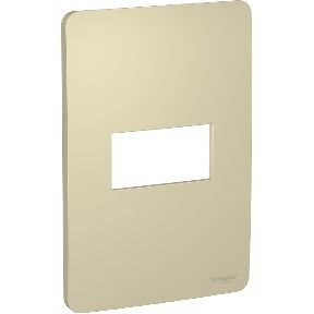 Placa 4x2 1 Posto Horizon Gold Schneider Orion S730101234