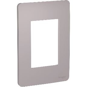 Placa 4x2 3 Postos Axis Grey Schneider Orion S730103224