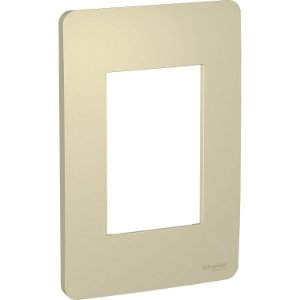 Placa 4x2 3 Postos Horizon Gold Schneider Orion S730103234