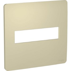 Placa 4x4 2 Postos Horizon Gold Schneider Orion S730201234