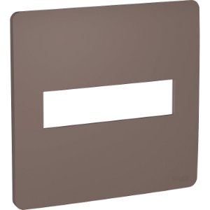 Placa 4x4 2 Postos Planet Brown Schneider Orion S730201264