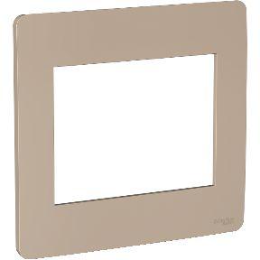 Placa 4x4 6 Postos Bege Schneider Orion S730203064