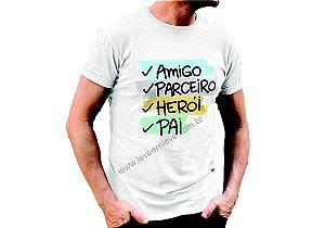 Camiseta Especial dia dos Pais
