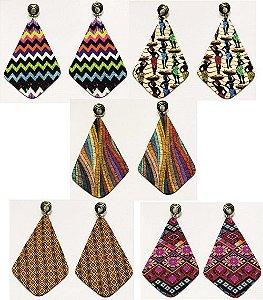 Brincos Leve e Releve Dassa moda afro