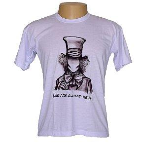Camiseta masculina Chapeleiro Louco
