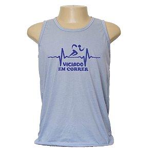 Camiseta masculina viciado em correr