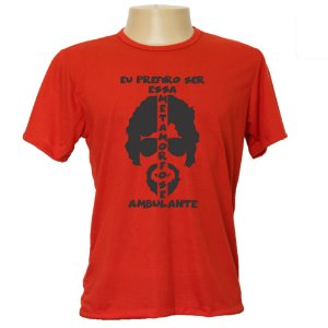 Camiseta masculina Metamorfose ambulante