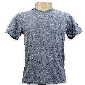 Camiseta masculina em algodão